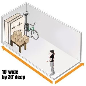 10 X 20 Small One Car Garage 200 Sq Ft Ground Level