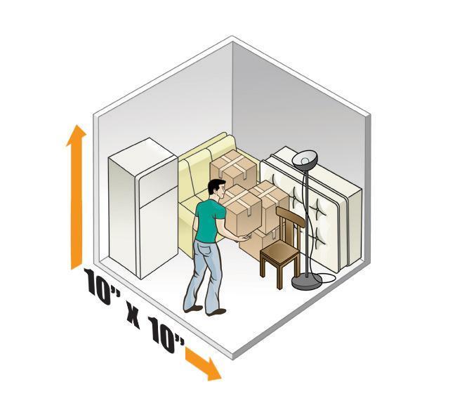 10 X 10 Average Size Bedroom 100 sq ft Upper Level