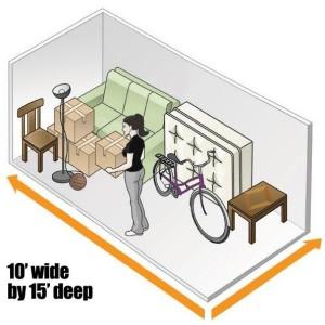 10x15 Unit Layout