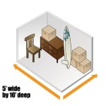 5x10 Storage Unit Render